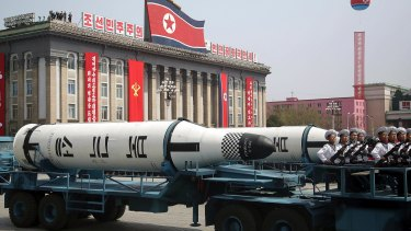 North Korean has threatened Australia with a nuclear strike but it can't actually reach the mainland.