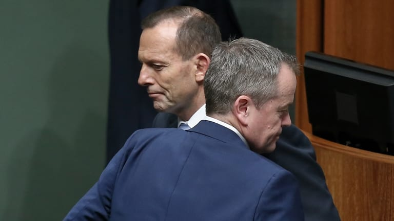 Prime Minister Tony Abbott (left) and Opposition Leader Bill Shorten are expected to hold talks in coming days on requests for Australian military involvement in Syria.