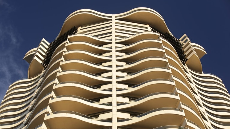 Harry Seidler's Horizon Building, Sydney.