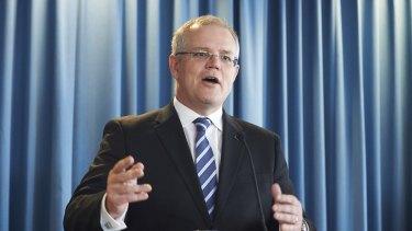 Treasurer Scott Morrison must establish a competitive tax rate for Australian companies.