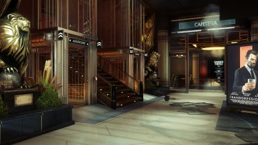 In the world of Prey the space race and JFK's presidency turned out very differently, resulting in a familiar but distinct for its 2032 near-future setting.