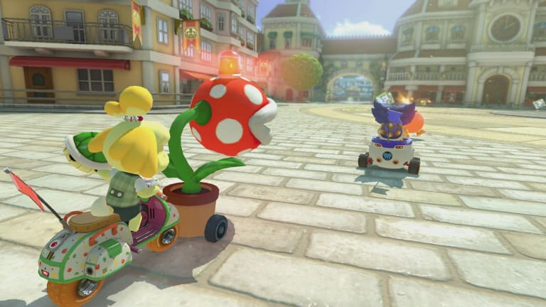 Renegade roundup is cops and robbers with a Mario Kart twist.