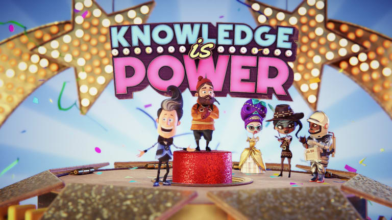 Knowledge is Power is a quirky quiz show with a vindictive twist.