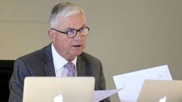 Justice Peter McClellan is the chairman of the Royal Commission into Institutional Responses to Child Sexual Abuse which recommended a national redress scheme.