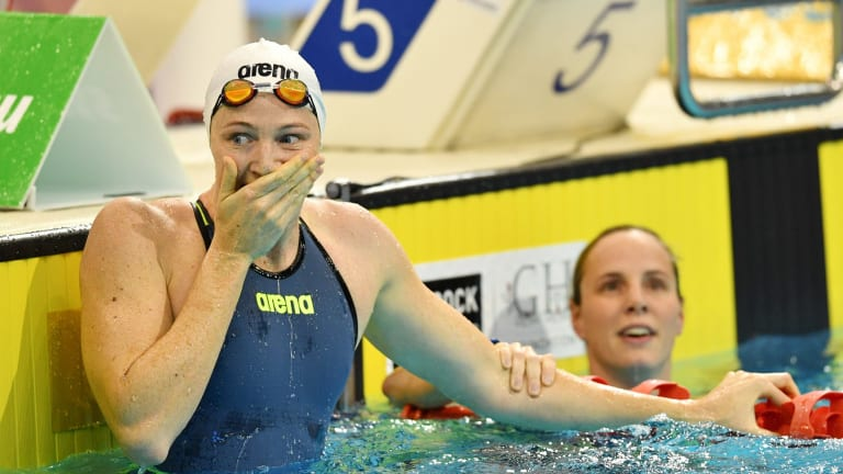 That fast? Cate Campbell's return to competitive swimming has already seen records tumble.
