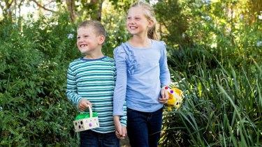 Hit the Easter trail at Elizabeth Farm.