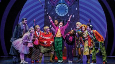 Sweet success: Charlie and the Chocolate Factory has made the transition from page to stage.