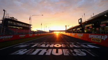 The sun rises on a new name for Mount Panorama – Wahluu, which means young man's initiation place.