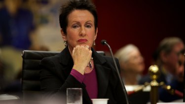 Sydney of City mayor Clover Moore is annoyed by the  NSW Education Department's decision not to buy a council site in Ultimo for a new school.