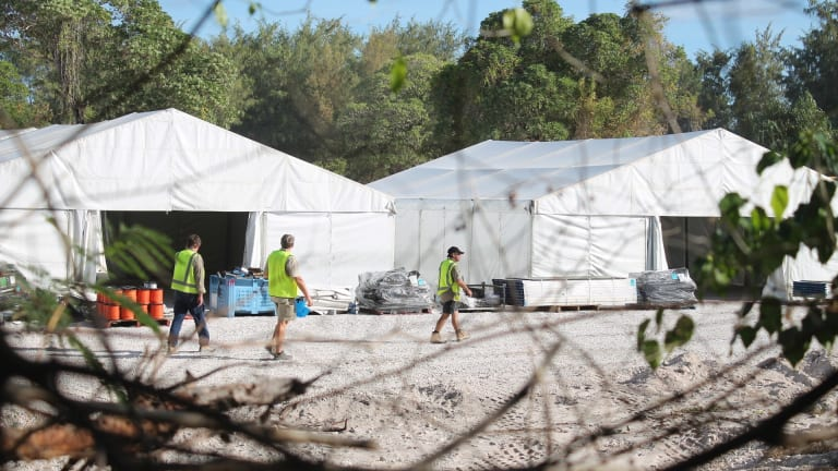 Nauru detention centre