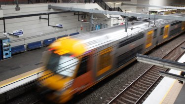 The Baird government has earmarked more than $1 billion for new suburban trains.