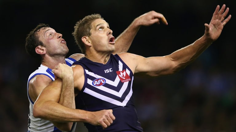 Aaron Sandilands missed the tough assignment against Adelaide but is on course for a swift return.