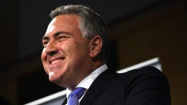 Joe Hockey outlines his plans for tax reform.