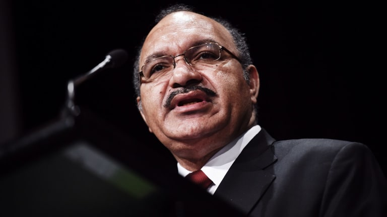 PNG Prime Minister Peter O'Neill says his country is passionate about rugby league.