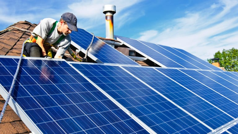 Landlords should be encouraged to install solar panels.