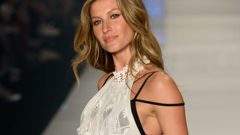 In the spotlight: Brazilian supermodel Gisele Bundchen.