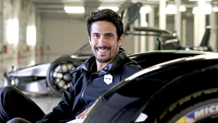 Driving force: Formula E champion Lucas Di Grassi is teaching robots how to race.