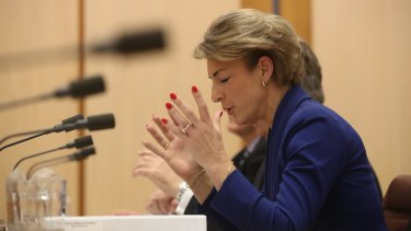 Employment Minister Michaelia Cash denies she misled Parliament about her office's involvement after a staffer admitted to tipping off the media about a police raid on the Australian Workers Union.