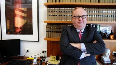 """""""I have seen things that show that federal politicians are not immune from temptation"""": Geoffrey Watson, SC."""