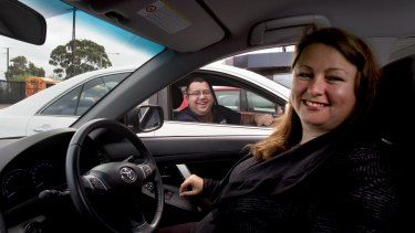 Danny and Jo lease 32 cars out to people who are driving for Uber. They say there is a ''never-ending'' demand from people who want to lease a car for up to six months.