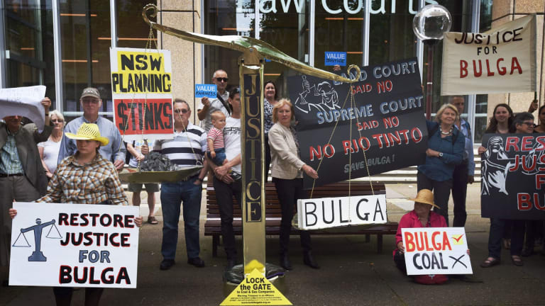 The Environmental Defenders Office won an important case on behalf of the residents of Bulga against Rio Tinto's coalmine extension.