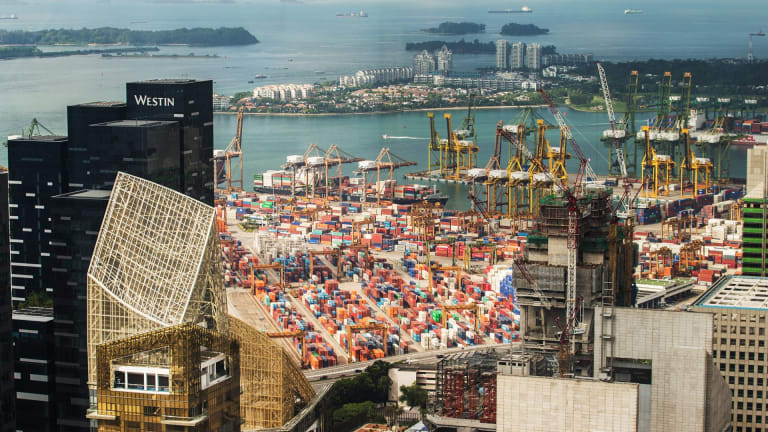 Singapore's shipping could have a lot to lose if the Kra canal is developed.