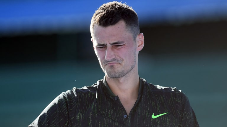 Bernard Tomic was eight years old when he started training to be a tennis champion.