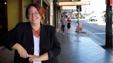 """Politics and my personal life collided today"": Penny Sharpe."