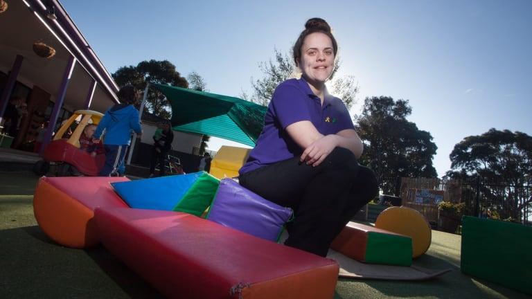 Rhiannan Tones, a Rowville childcare educator, was surprised to hear Melbourne was the world's most lievable city.