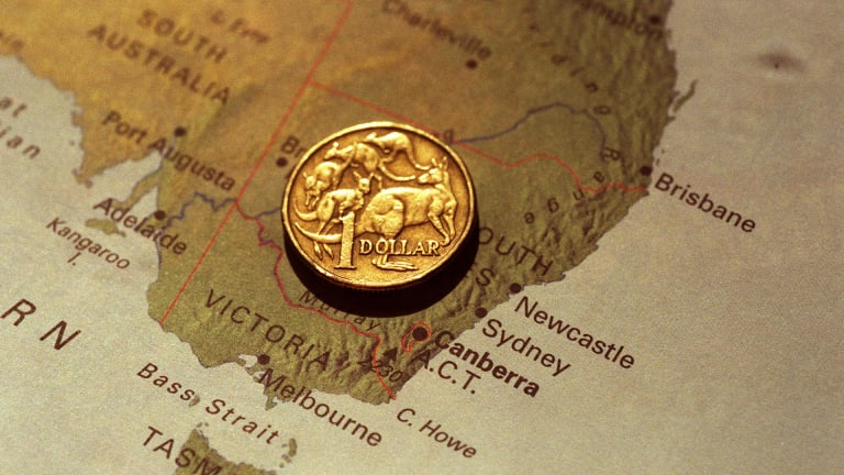 The Australian dollar hit two-year high on Friday.