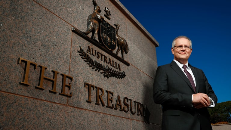 Treasurer Scott Morrison has pushed hard to tax cuts but ignored other options.