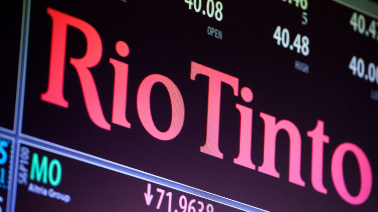 Mining company Rio Tinto is presenting to investors in Sydney on Monday and has announced Simon Thompson as its next chairman.