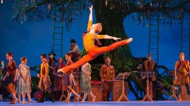 Leap of imagination: Steven McRae (Florizel) in the Royal Ballet's magical production.