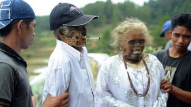 Living with the dead in South Sulawesi.