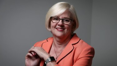 Karen Andrews is the fourth vocational education minister in the past year.