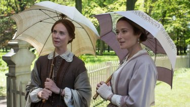 Sisterly bond: Cynthia Nixon and Jennifer Ehle in A Quiet Passion.