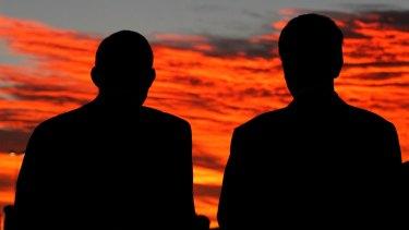 Tony Abbott and Bill Shorten attended a dawn vigil for Andrew Chan and Myuran Sukumaran yesterday.