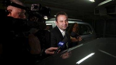 Facing allegations: Eddie Hayson.