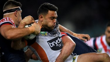 """""""Even when sitting up, I couldn't get out of bed; I had to roll out"""": David Nofoaluma."""