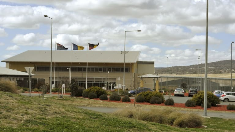 The Alexander Maconochie Centre library caters for more than 400 detainees.