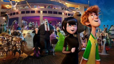 Hotel Transylvania 3: summer vacation.
