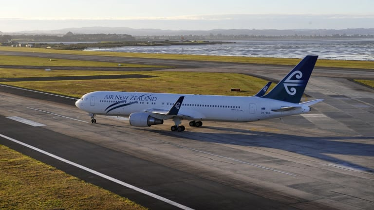 Air New Zealand won't commence flights to Canberra.