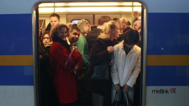 There is 'overloading' on all train lines servicing the north and western suburbs.