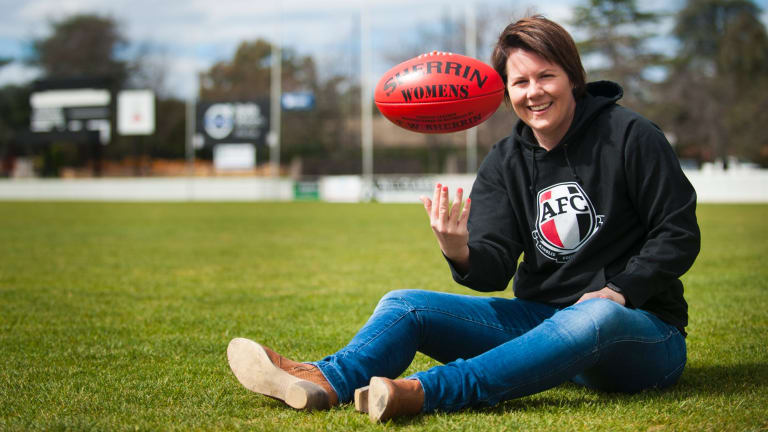 Crime fighter and footballer Bec Goddard will coach the Crows