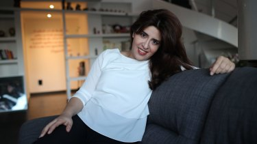 """Francesca Chaouqui also called """"Lady Vatican"""" at home in Rome in March."""