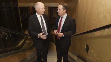 Bunnings managing director John Gillam is delivering the goods for Wesfarmers managing director Richard Goyder.