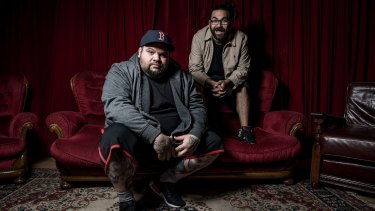 Briggs and Trials (Adam Briggs and  Dan Rankine), who as A.B. Original have launched their first album, <i>Reclaim Australia</i>.