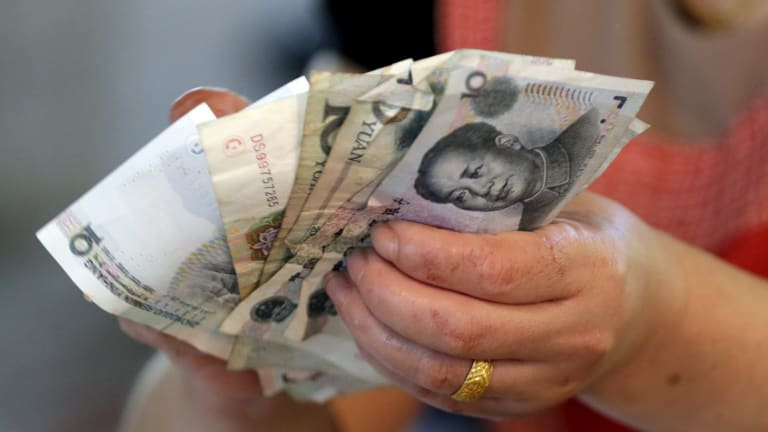 China's currency moves rocked.