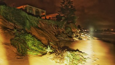 Beach erosion will become more commonplace.