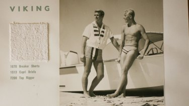 The Speedo Golden Sands Series catalog for the summer of 1960-61  introduced a dramatic range of swimwear and beachwear to the Australian market.